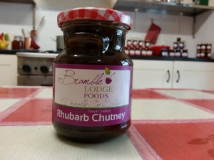 Rhubarb Chutney